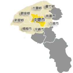 Location of Zhongli