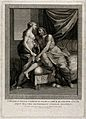 Jupiter (Zeus) and Juno (Hera). Engraving by P. Bettelini af Wellcome V0048210.jpg