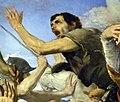 Jusepe de ribera, san genanro esce illeso dalla formace, su rame, 1646, 05,1.jpg