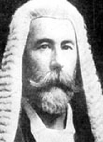 Commonwealth Court of Conciliation and Arbitration - Image: Justice Richard O'Connor