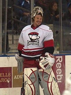 Justin Pogge Canadian ice hockey goaltender