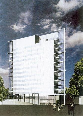Arto Sipinen - Arto Sipinen: Innova tower in Jyväskylä