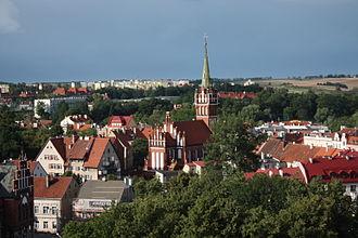 "Masuria - The town of Kętrzyn was named after Wojciech Kętrzyński in 1946 as part of the region's Polonisation. Its previous Polish name was ""Rastembork"""