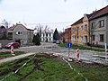 Křelov, Lipové náměstí, ke škole.jpg