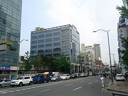 Streetview of Nangye-ro in Sinseol-dong