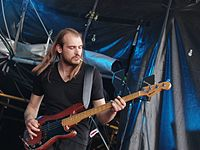 Kadavar (German Psychedelic Rock Band) (Krach Am Bach 2013) IMGP8859 smial wp.jpg