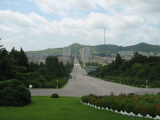 Kaesong - Kaesong in summer