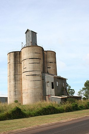 Kairi, Queensland - Kairi Maize Silos, 2007