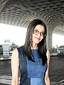 Kajal Aggarwal at Mumbai International Airport in March 2018.jpg