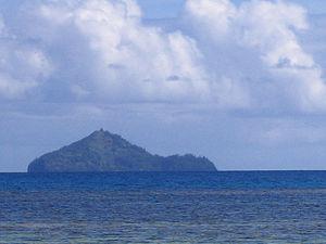Kamaka (island) - View of Kamaka Island