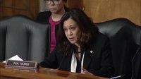 File:Kamala Harris talks to Elaine Duke about the details of separating families.webm