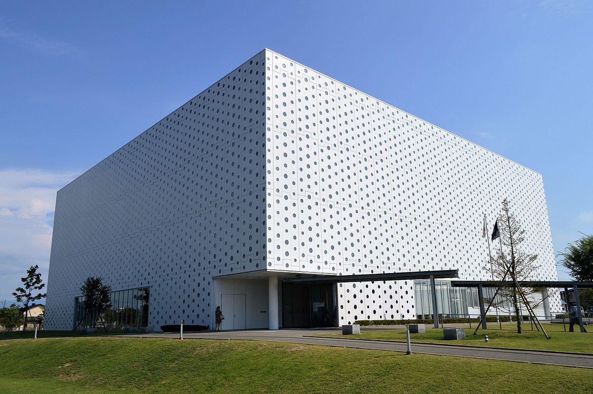 Single Floor Simple Elevation : Kanazawa umimirai library wikipedia