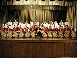 Bandurist - The Canadian Bandurist Capella.