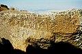 Karadag 19 09 2000 Mahalic Tepesi hethitische Inschrift.jpg