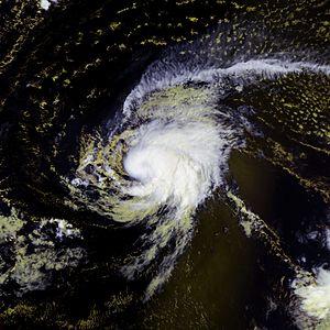 Hurricane Karen (2007) - Image: Karen 26 sept 2007 1220Z