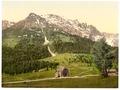 Karersee Pass and Rosengartenhof, Karersee, Tyrol, Austro-Hungary-LCCN2002711048.tif