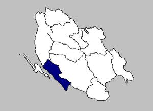 Karlobag - the Karlobag municipality within Lika-Senj County