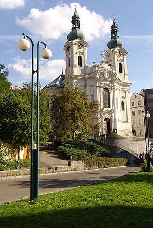 Kilian Ignaz Dientzenhofer - St. Magdalene Church. Karlovy Vary