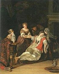 Fainted Woman, after Eglon van der Neer