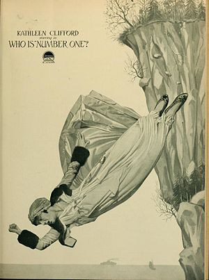 Who Is Number One? - Advertisement for film with Kathleen Clifford