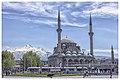 Kayseri Bürüngüz Camii ve Erciyes Dağı.jpg