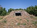 Kazemattenmuseum Kornwerderzand - Replica geinproviceerde bunker Wonsstelling (de Wanhoop).jpg