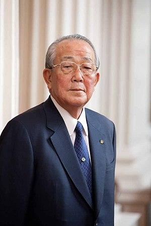 Kazuo Inamori - Image: Kazuo Inamori 2011 Heritage Day HD2011 71