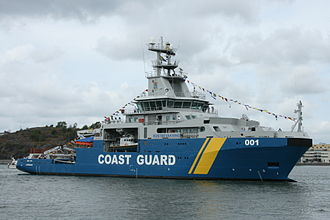Swedish Coast Guard - Swedish Coast Guard Multi Purpose Vessel KBV001 Poseidon
