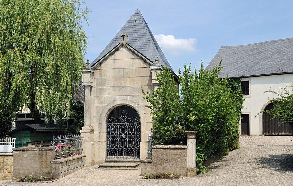 Kehlen, Luxembourg: chapel rue d'Olm.