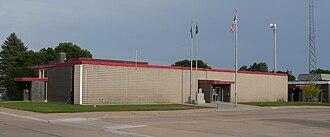 Keith County, Nebraska - Image: Keith County, Nebraska courthouse from NW 1