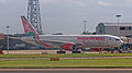 Kenya Airways Boeing 767 5Y-KQZ (6211651451).jpg