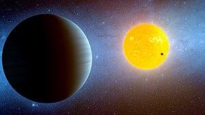 Kepler-10 - Image: Kepler 10 star system