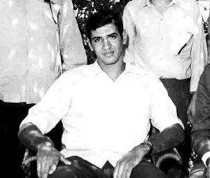 Khalid Abdel Nasser - Khalid during a scouting event, 1969