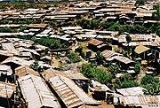 Kibera - one of Africa`s largest slums.