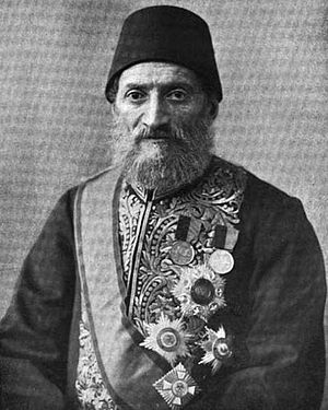 1913 Ottoman coup d'état - The pro-Freedom and Accord and anti-CUP Grand Vizier Kâmil Pasha, who led government until his forced resignation in the coup.