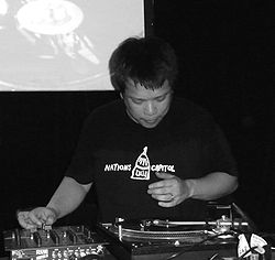 Kid Koala Brisbane Step Inn 2009.jpg