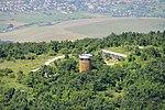 Kilátó Pilis 756 méteres csúcsán, légi felvétel.jpg