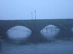 The bridge joining Ballina and Killaloe