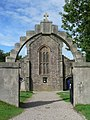 Kilmartin, war memorial gateway - geograph.org.uk - 916071.jpg