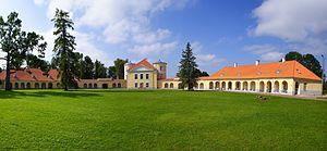 Liivaküla, Lääne-Viru County - Kiltsi Manor in Liivaküla.