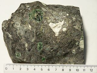 Kimberlite An igneous rock which sometimes contains diamonds