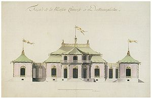 1769 in architecture - Architects' drawing for Chinese Pavilion at Drottningholm