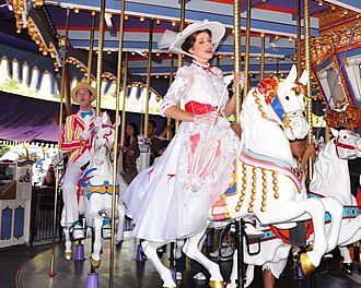 King Arthur Carrousel - Image: King Arthur Carrousel, Mary Poppins on Jingles
