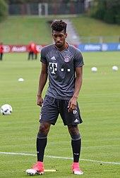 58022f0b9 2017–18 season edit . Coman training with Bayern Munich ...