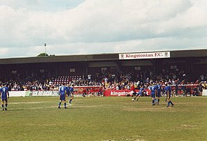 Kingsmeadow - Kingsmeadow in 2003