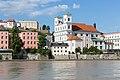 Kirche St. Michael samt Inn, Passau, 07.07.2018.jpg