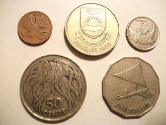 Kiribati dollar - Image: Kiribati Coins