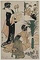 Kitagawa Utamaro - Chushingura- Act IV of The Storehouse of Loyalty - 1921.311 - Cleveland Museum of Art.jpg