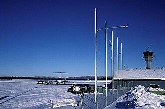 Kittilä Airport - Apron view