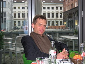 Klaus Schnellenkamp - Klaus Schnellenkamp before a German Talkshow © March 2007
